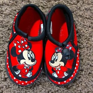 Disney Minnie Mouse Polka Dot Water Shoes